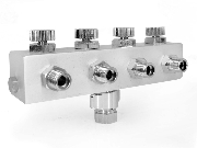Manifold 4 Way Air Hose Splitter